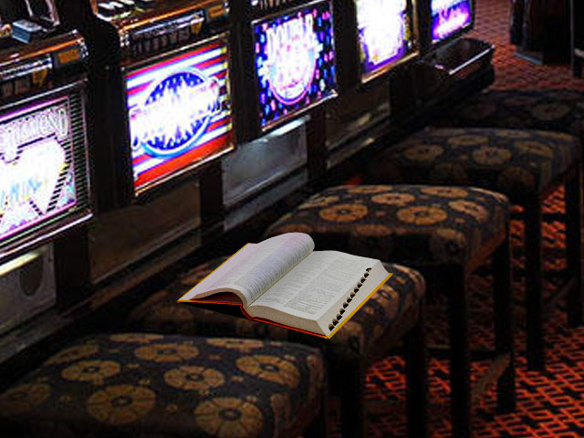 Slot machine terms