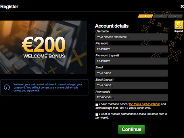 EnergyCasino screenshot 3