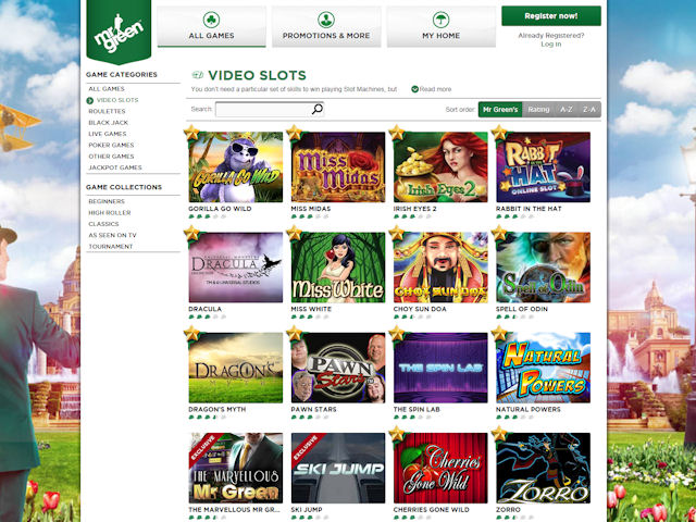 Win Millions, 20+ Jackpots! €350 Bonus at Mr Green