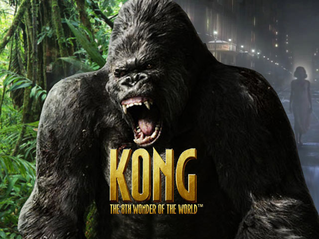 Licensed movie video slot Kong