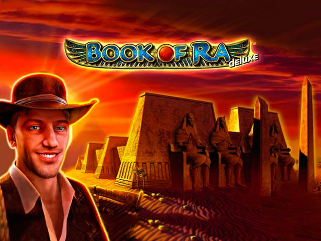 Desert slot machine Book of Ra Deluxe