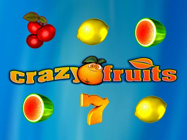 Fruit slot machine Crazy fruits