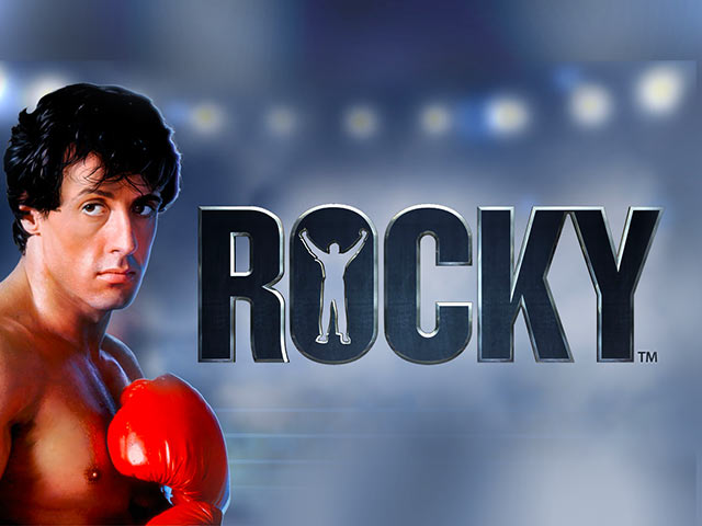 Licensed movie video slot Rocky