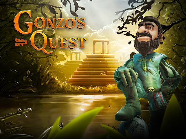 Adventure-themed slot machine Gonzo's Quest