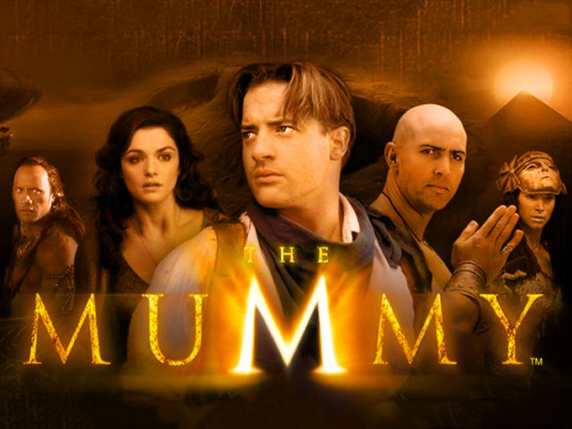 Licensed movie video slot The Mummy