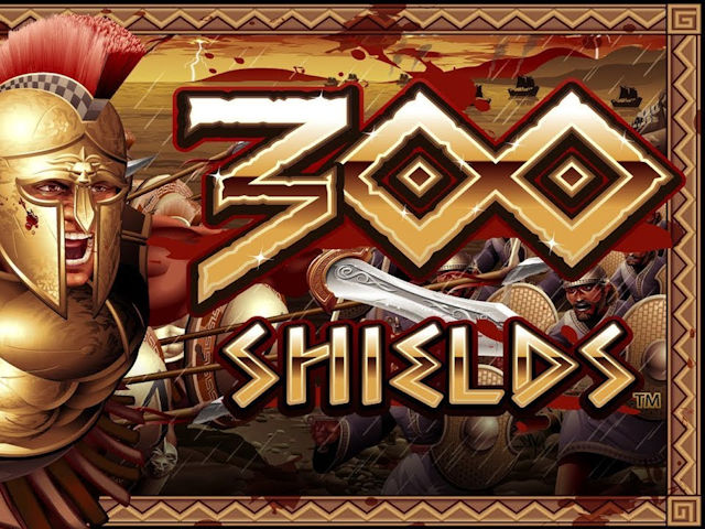 Adventure-themed slot machine 300 Shields