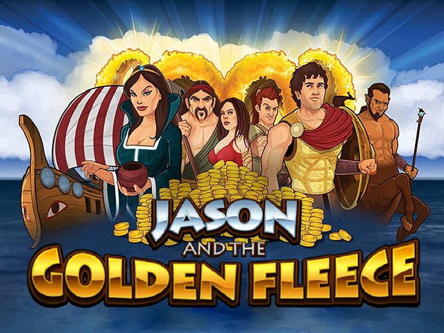 Adventure-themed slot machine Jason and the Golden Fleece