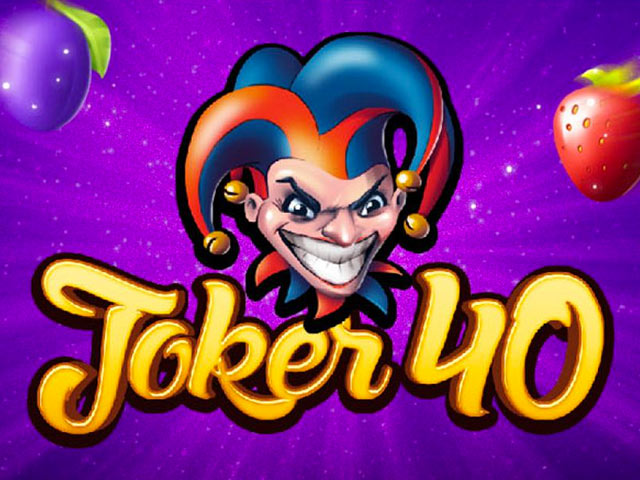 Fruit slot machine Joker 40