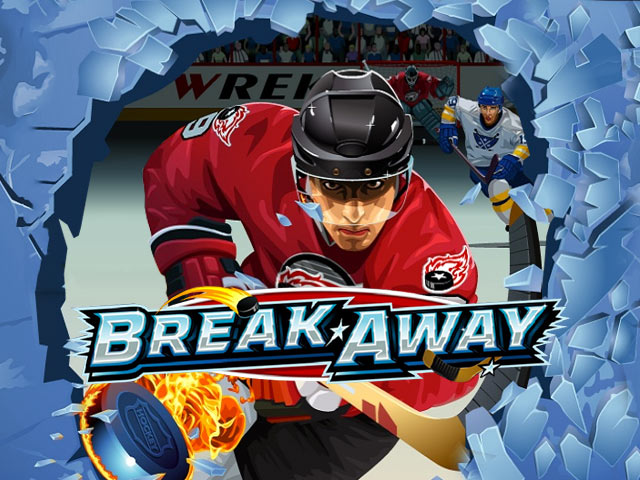 Sports themed slot machine Break Away