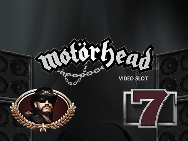 Slot machine with a musical theme Motörhead