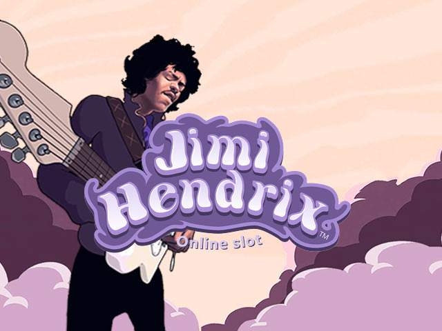 Slot machine with a musical theme Jimi Hendrix