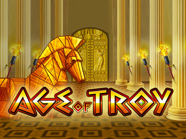 Slot machine with mythology Age of Troy