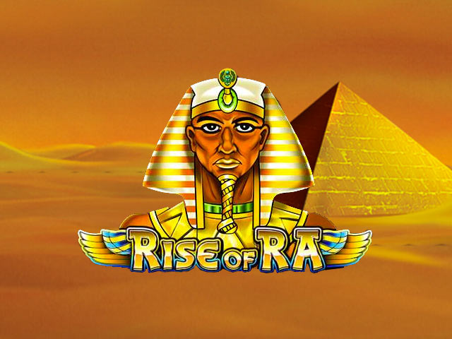 Desert slot machine Rise of Ra