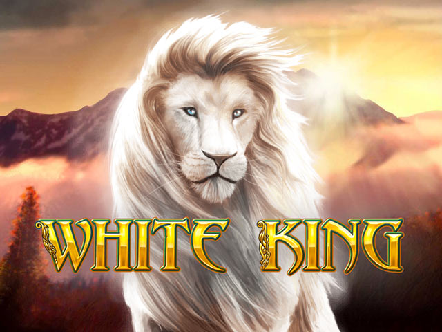 Animal-themed slot machine White King
