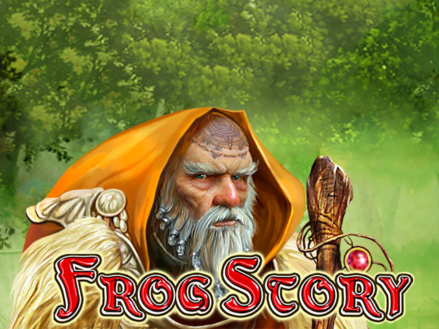 Fairytale-themed slot game Frog Story
