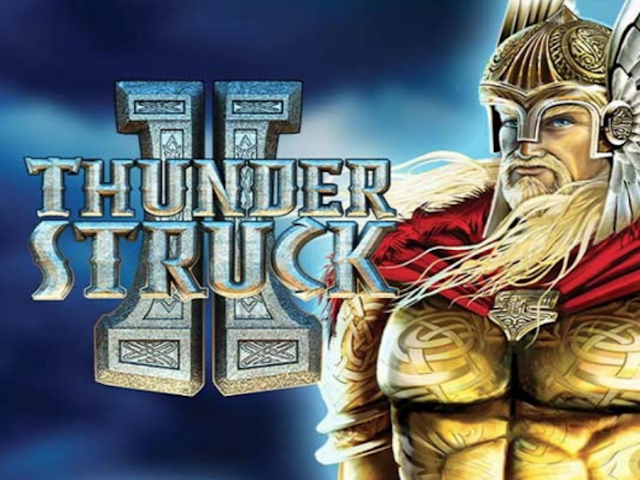 Slot machine with mythology Thunderstruck II