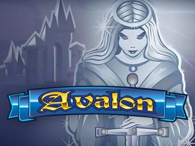Adventure-themed slot machine Avalon