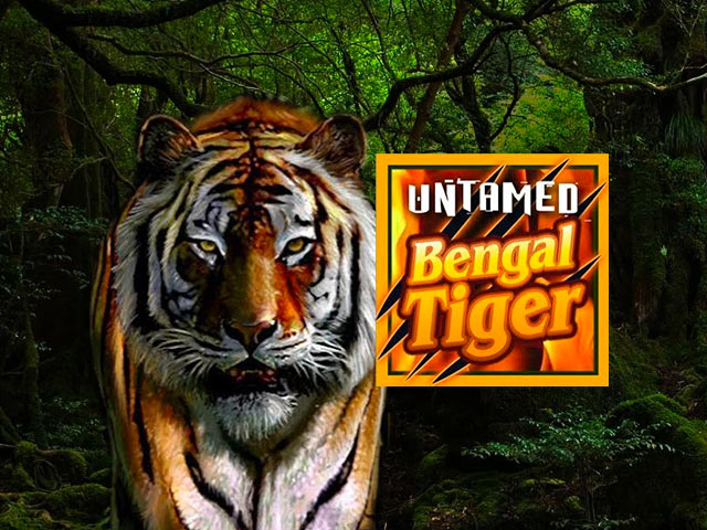 Animal-themed slot machine Untamed Bengal Tiger