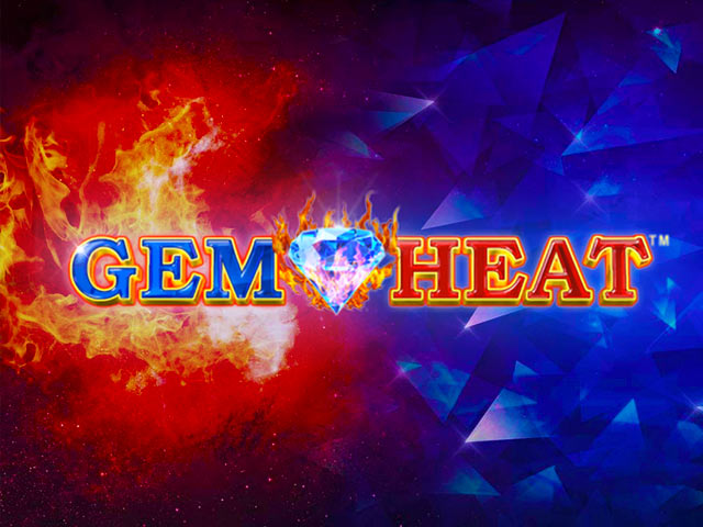 Retro slot machine Gem Heat