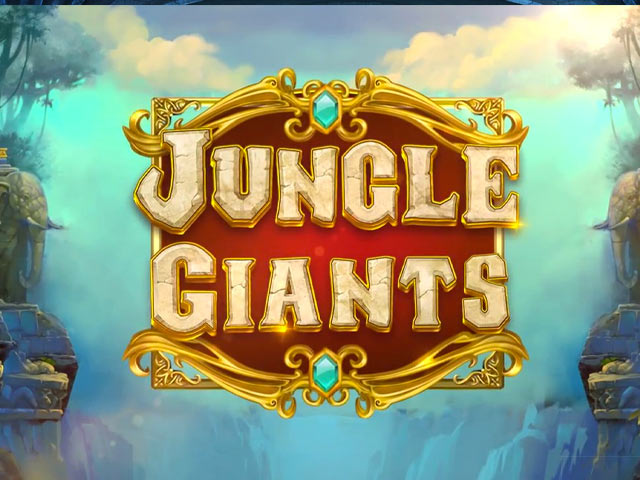 Animal-themed slot machine Jungle Giants