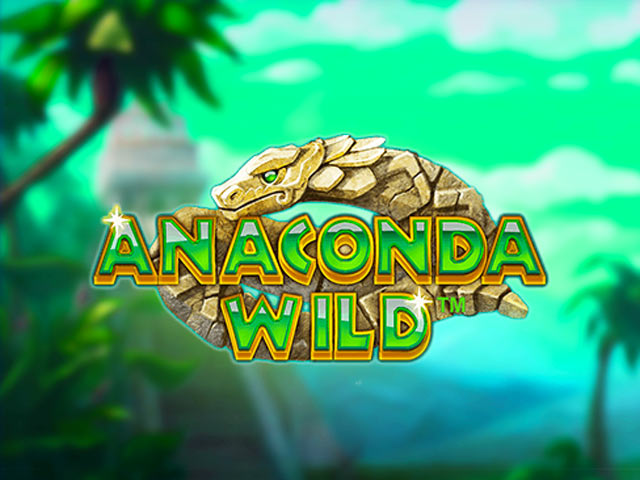 Adventure-themed slot machine Anaconda Wild