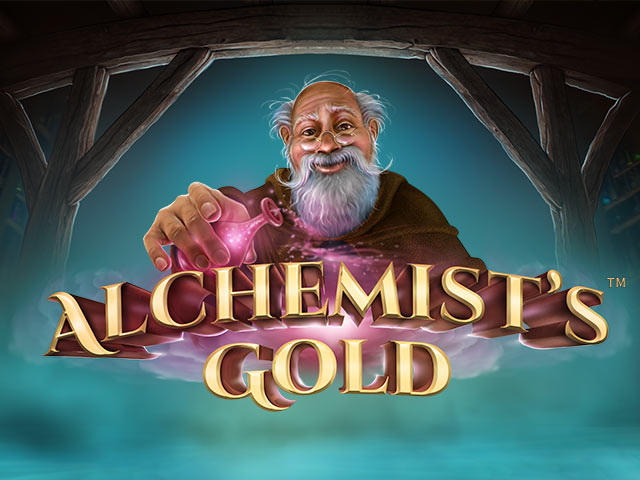 Slot machine with mythology Alchemist´s Gold