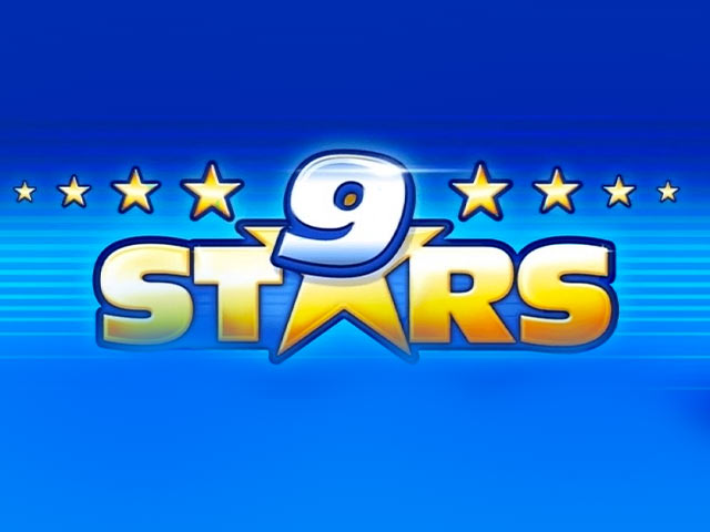 Retro slot machine 9 Stars
