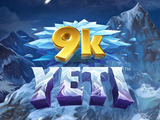 Adventure-themed slot machine 9k Yeti