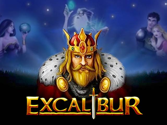 Adventure-themed slot machine Excalibur
