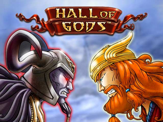 Slot machine with mythology Hall of Gods